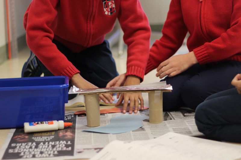 2nd Grade Model Bridges 19