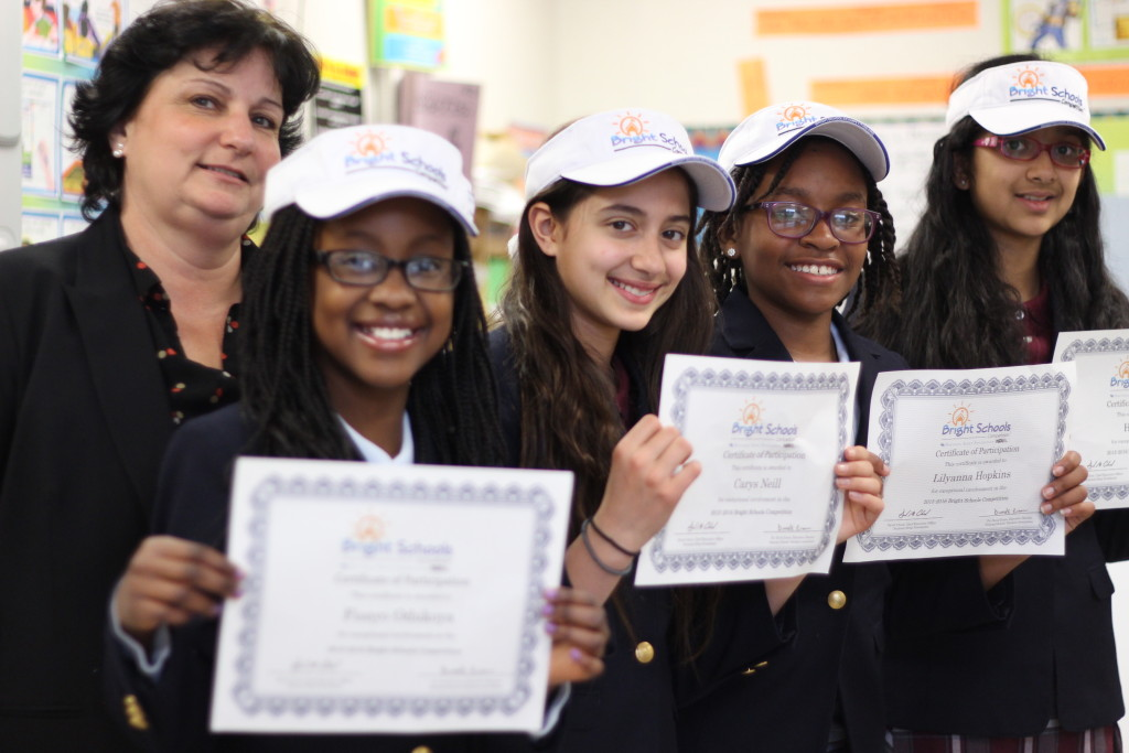 Cedar Hill Prep School Middle School Students Named National Finalists in the Bright Schools Competition, 1 of 3 schools in NJ