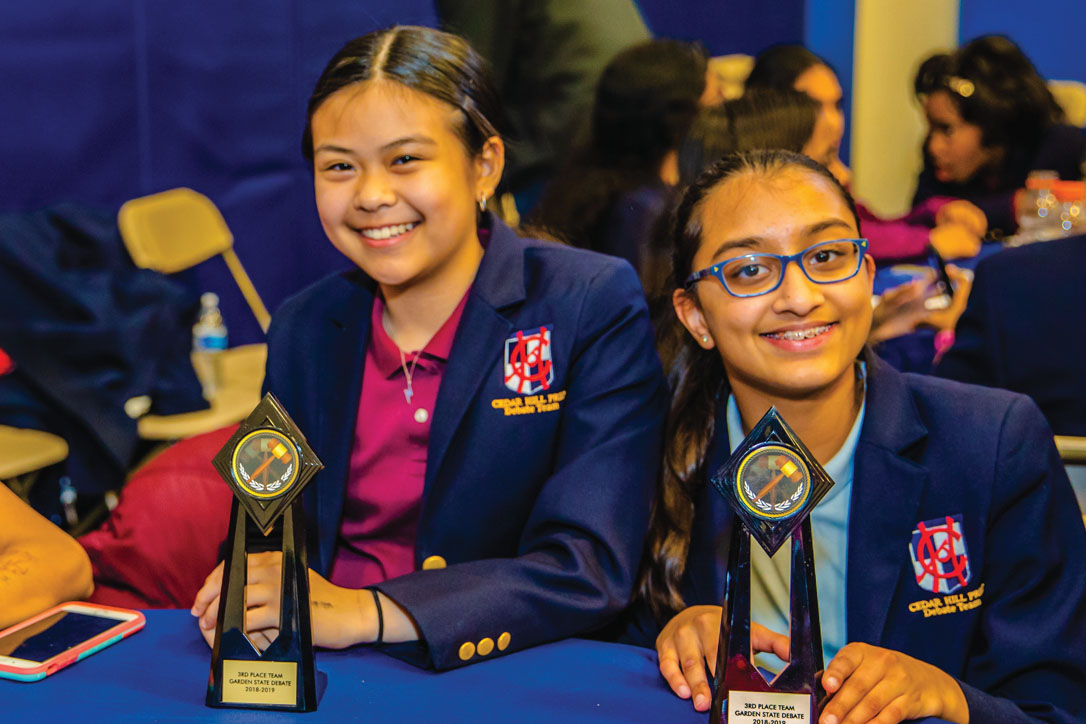 Cedar Hill Prep Debate competition