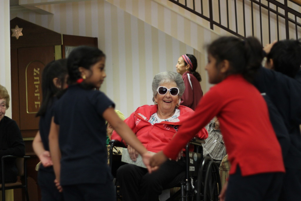 Kindergarten Visits The Martin and Edith Stein Assisted Living Residence 30