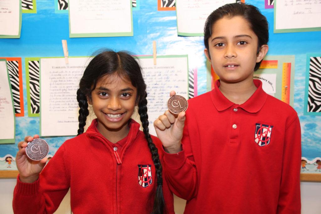 Grade 3 - Continental Math League Winners