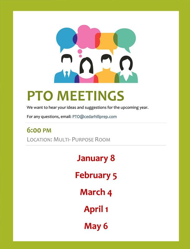 pto meetings