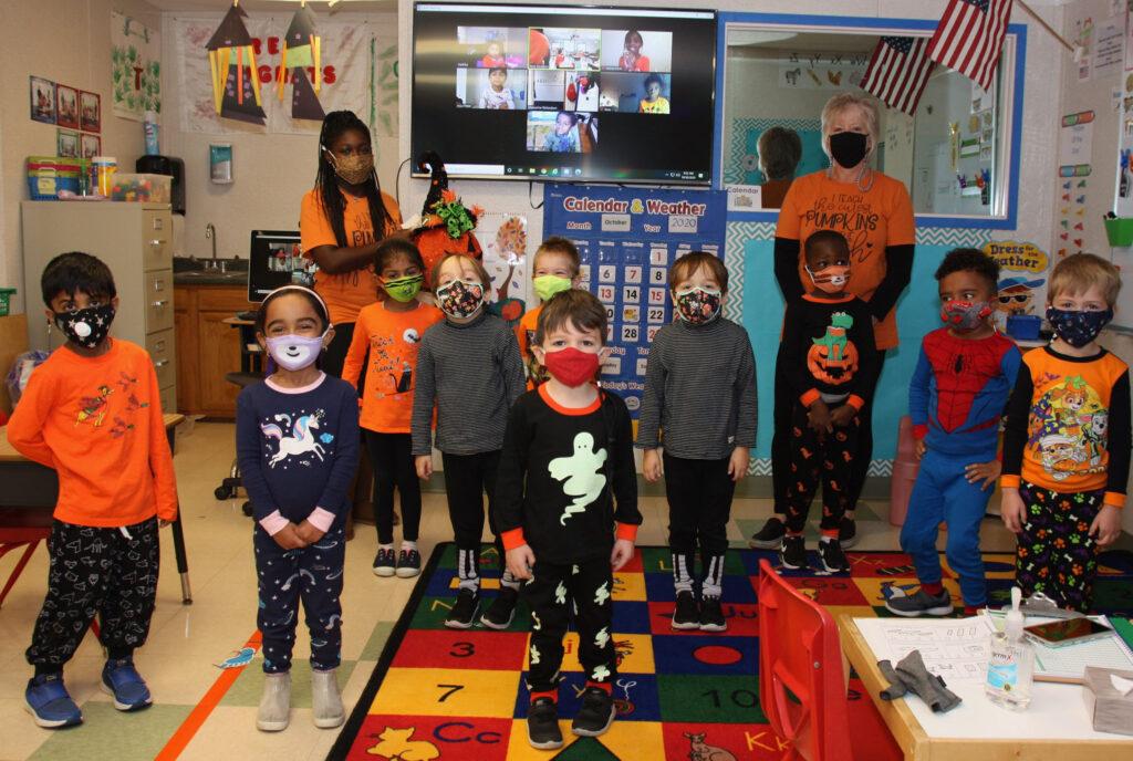 pre-kindergarten halloween