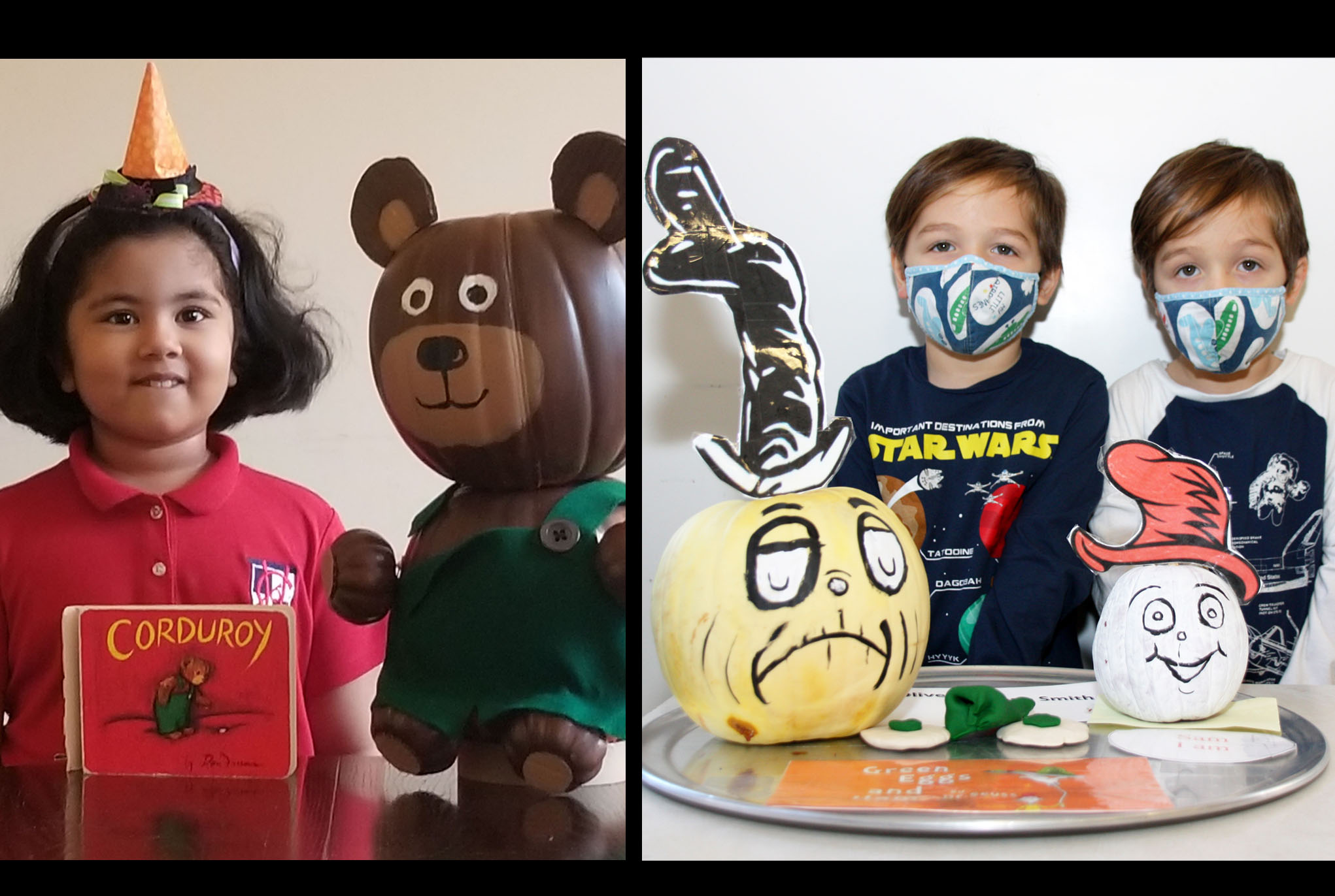 storybook pumpkin Winners