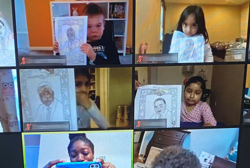 Pre-Kindergarten Learns About Martin Luther King Jr. Day
