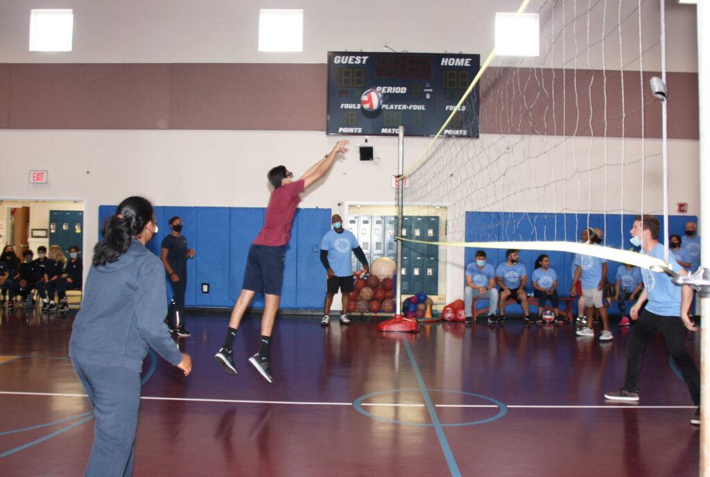Cedar Hill Prep Volleyball Game