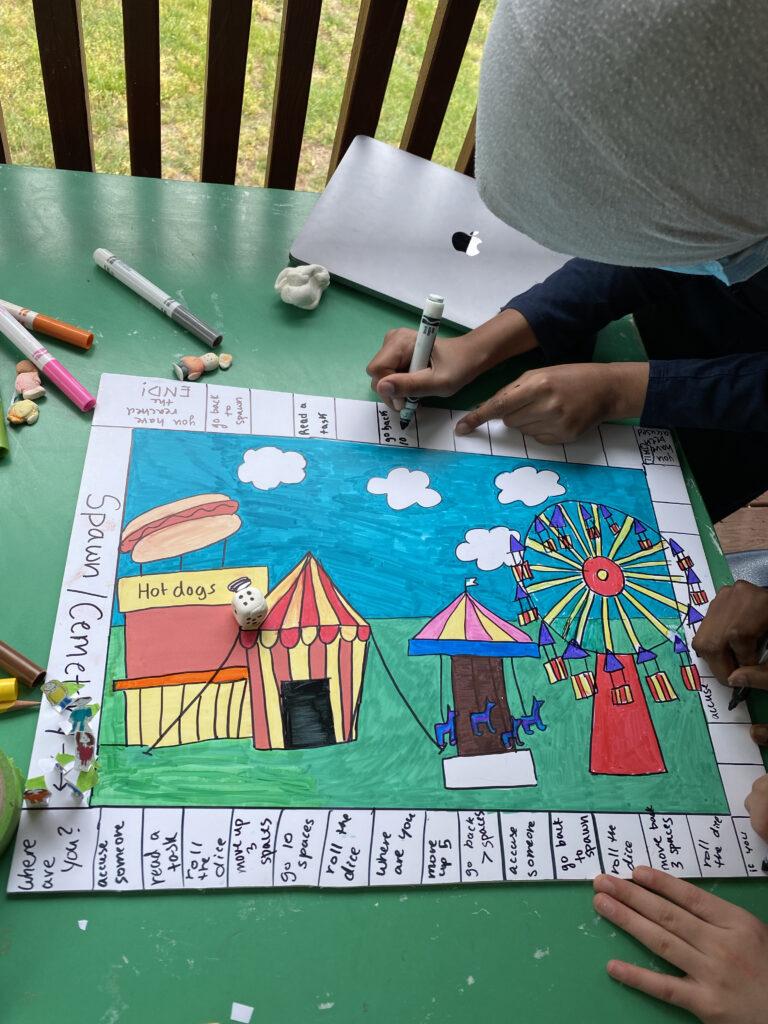 Cedar Hill Prep Art - Game Time
